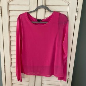 RW&Co Hot Pink Top